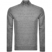 BOSS HUGO BOSS Sidney 19 Half Zip Sweatshirt Grey