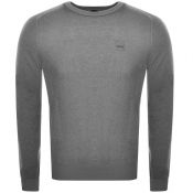 Product Image for BOSS Casual Akustor Knit Jumper Grey