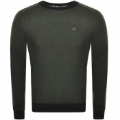 Product Image for BOSS Casual Akustor Knit Jumper Khaki