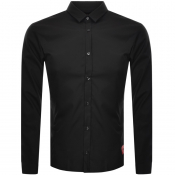 Product Image for HUGO Ero3 Long Sleeve Shirt Black
