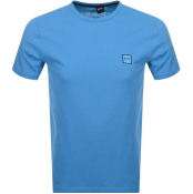 BOSS Casual Tales T Shirt Blue