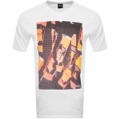BOSS Casual Trek T Shirt White