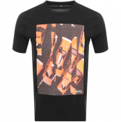 BOSS Casual Trek T Shirt Black