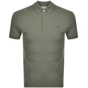 Lacoste Short Sleeved Polo T Shirt Green