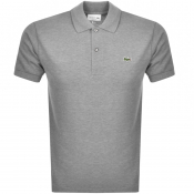 Product Image for Lacoste Short Sleeved Polo T Shirt Grey