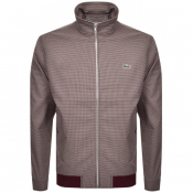 Product Image for Lacoste Full Zip Jacket Burgundy