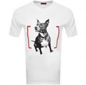 Product Image for HUGO Duppy T Shirt White