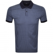 BOSS HUGO BOSS Phillipson 63 Polo T Shirt Navy