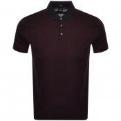 Product Image for BOSS HUGO BOSS Pitton Polo T Shirt Burgundy