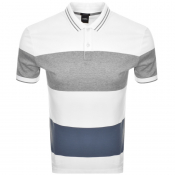 Product Image for BOSS HUGO BOSS Parlay 54 Polo T Shirt White
