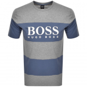 Product Image for BOSS HUGO BOSS Tiburt Logo T Shirt Grey