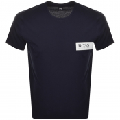 BOSS HUGO BOSS Crew Neck T Shirt Navy