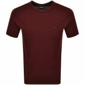 BOSS HUGO BOSS Lecco 80 T Shirt Bugundy