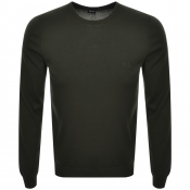 Product Image for BOSS HUGO BOSS Botto Knit Jumper Khaki
