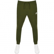 Nike Standard Fit Club Jogging Bottoms Green