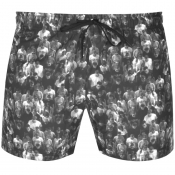 Hugo Inagua Swim Shorts Grey
