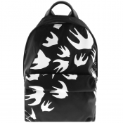 Product Image for MCQ Alexander McQueen Swallow Backpack Black