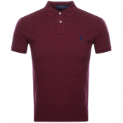 Product Image for Ralph Lauren Slim Fit Polo T Shirt Red
