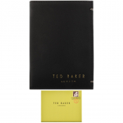 Product Image for Ted Baker Zacks Small Bifold Leather Wallet Black