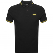 Product Image for Barbour International Tipped Polo T Shirt Black