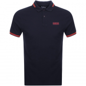 Product Image for Barbour International Tipped Polo T Shirt Navy