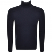Product Image for BOSS Casual Kamerlos Roll Neck Jumper Navy