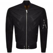 Diesel J Nikolai Leather Jacket Black