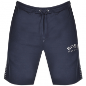 BOSS Athleisure Headlo Logo Shorts Navy