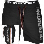 Superdry State Volley Swim Shorts Black