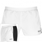 BOSS HUGO BOSS Goldeye Swim Shorts White