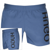 HUGO Saba Swim Shorts Blue