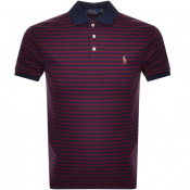 Product Image for Ralph Lauren Short Sleeved Polo T Shirt Burgundy