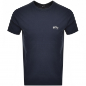 BOSS Athleisure Tee T Shirt Navy