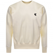 Product Image for Vivienne Westwood Small Orb Sweatshirt White