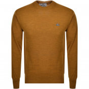 Product Image for Vivienne Westwood Crew Neck Knit Jumper Brown
