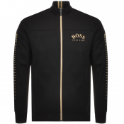 Product Image for BOSS Athleisure Skaz Win Full Zip Sweatshirt Black