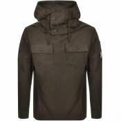 Product Image for CP Company Hooded Overshirt Jacket Khaki