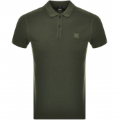 BOSS Casual Prime Polo T Shirt Green