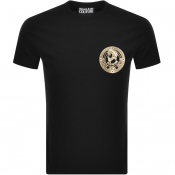 Product Image for Versace Jeans Couture Foil Logo T Shirt Black