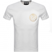 Product Image for Versace Jeans Couture Foil Logo T Shirt White