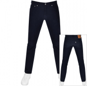 Levis 511 Slim Fit Corduroy Trousers Blue