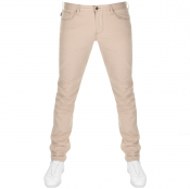 Product Image for Emporio Armani J06 Slim Fit Jeans Beige