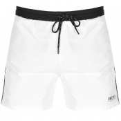 BOSS HUGO BOSS Starfish Swim Shorts White