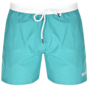 BOSS HUGO BOSS Starfish Swim Shorts Blue