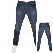 Levis 501 Original Fit Jeans Navy