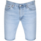 Levis 511 Slim Fit Denim Shorts Blue