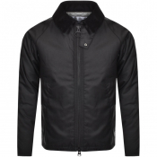 Barbour Beacon Munro Wax Jacket Black