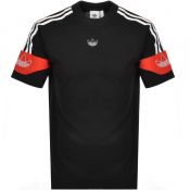adidas Originals Trefoil Logo T Shirt Black