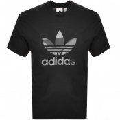 adidas Originals Camouflage Logo T Shirt Black