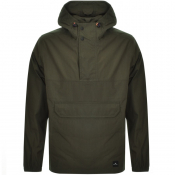 PS By Paul Smith Half Zip Kagoule Jacket Green